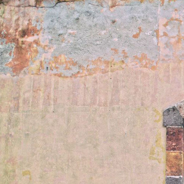塗装がポロポロと落ちてきている